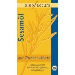 Bio Sesamöl mit Zitronen-Myrte frisch gepresst