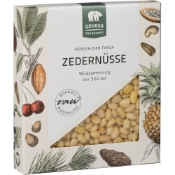 Sibirische Zedernüsse, bio, roh, 70 g