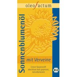 Bio Sonnenblumenöl mit Verveine frisch gepresst