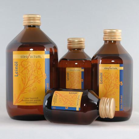 Bio Leinöl oleofactum