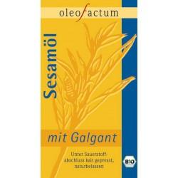 Bio Sesamöl mit Galgant frisch gepresst