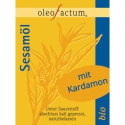 Bio Sesamöl mit Kardamon frisch gepresst
