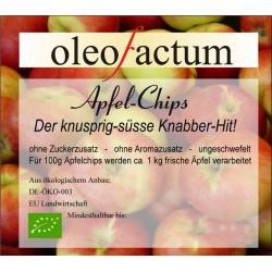 Apfel-Chips - knusprig-süss, Natur pur 200 g