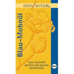 Bio Mohnöl aus Blaumohn frisch gepresst