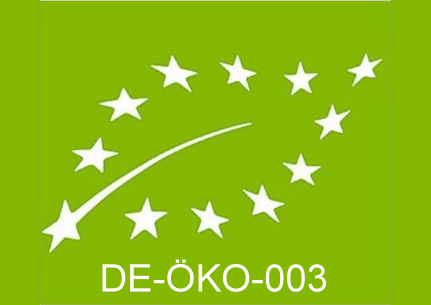 Wir sind zertifiziert nach DE-ÖKO-003